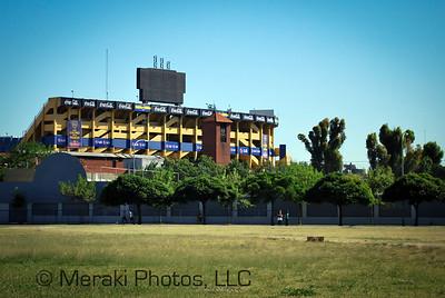 La Boca Juniors soccer stadium