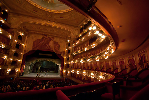 Photo of Teatro Colon from the best seat in the house
