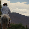 "A local rides a horse in Norte Argentino.  This is a travel photo from Norte Argentino. <a href=""http://nomadicsamuel.com"">http://nomadicsamuel.com</a>"