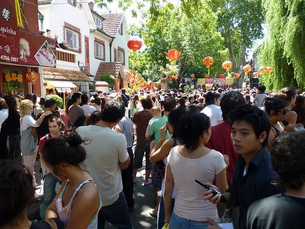 San Telmo Market and Barrio Chine 6 FEB 2011