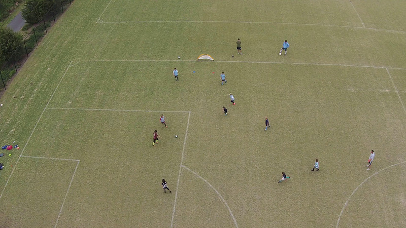 Argentina Scrimmage from Above!