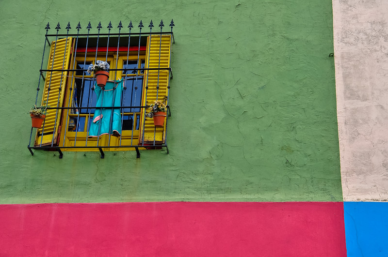 Colourful La Boca Neighbourhood