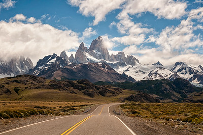 Straight to the Mighty Fitz Roy