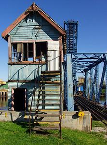 Old raiway and bridge