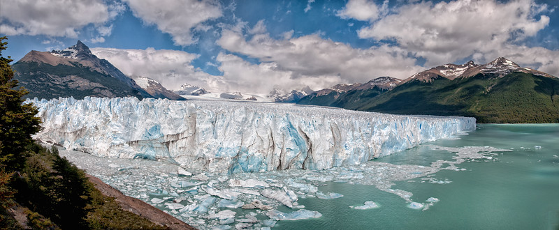 The Perito Moreno Glacier, A Panorama