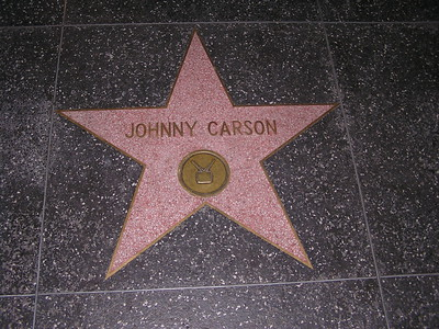 Johnny Carson was one of my all-time favorites.