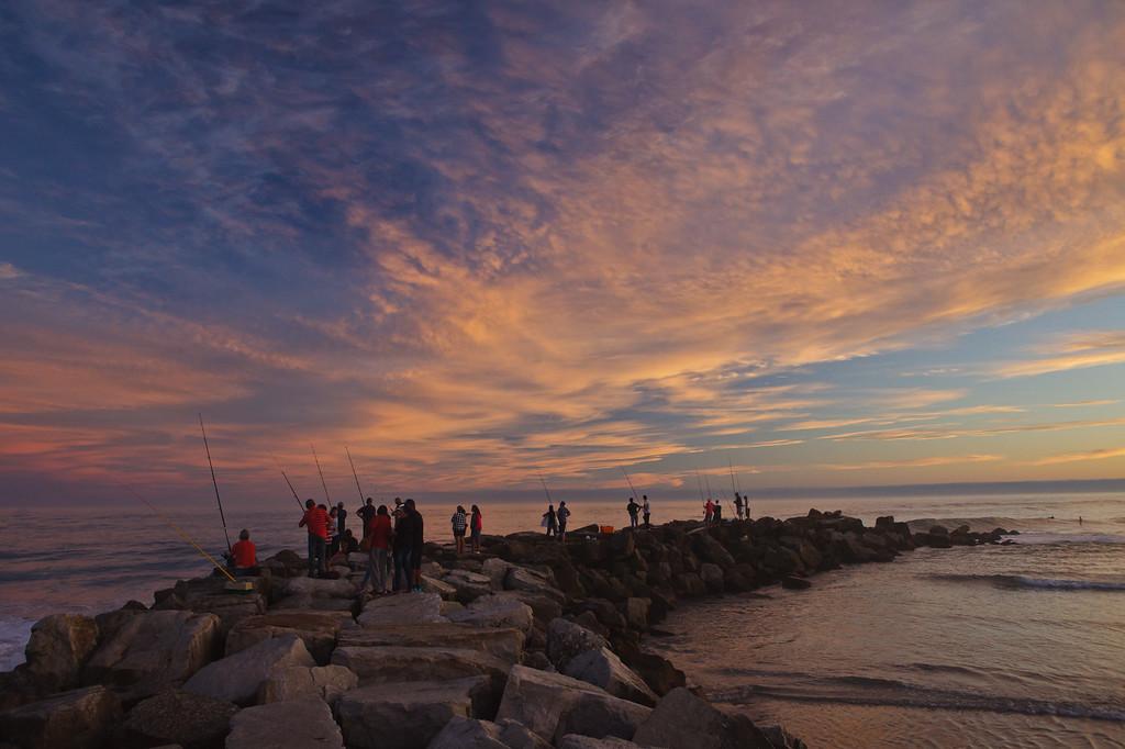 Pescadores en Miramar