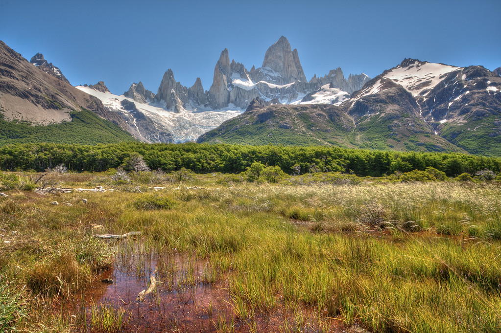Coming Round Towards the Fitz Roy