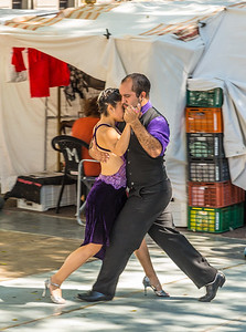 Tango Demonstration in BA Marketplace