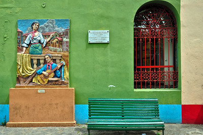 Colours in La Boca
