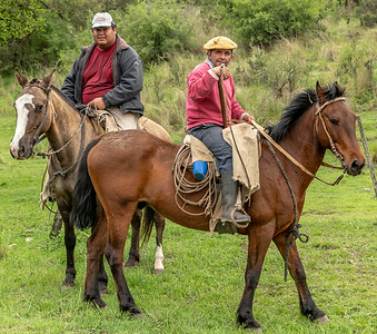 These legit Gaucho's were roadside searching for one of their cows...they seemed a bit puzzled as to why I would want to take their picture