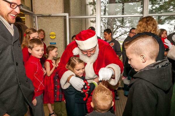 2015 Argonne Breakfast w Santa