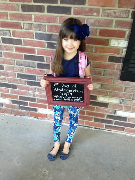 Such a lovely Kindergartener