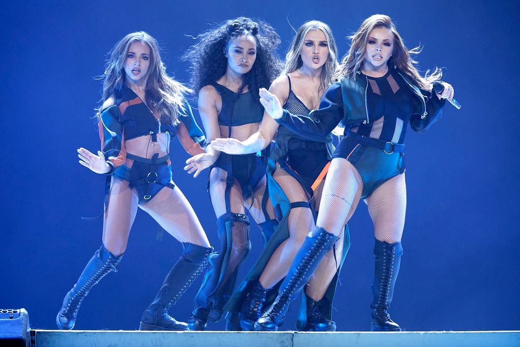 . Little Mix, live at The Palace Of Auburn Hills  on 3-12-2017. Photo credit: Ken Settle