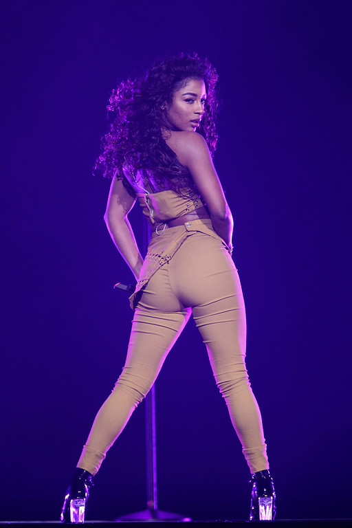 . Victoria Monet live at The Palace Of Auburn Hills  on 3-12-2017. Photo credit: Ken Settle