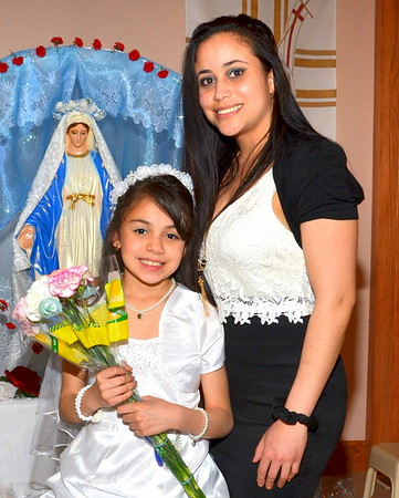 Arianna's 1st. Communion May 1, 2016