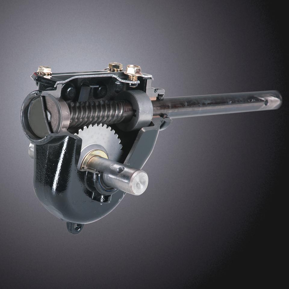 Cast iron gear case