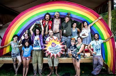Rainbow Lighting Team!