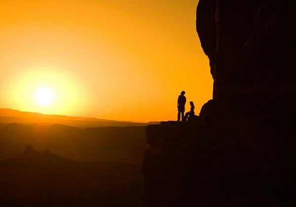 Sunset, Cathedral Rock, Sedona