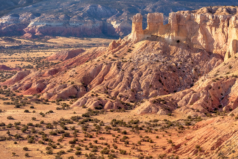 View from Chimney Rock, Ghost Ranch, Abiquiu, NM