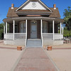 The Sirrine House was built in 1896 by Joel E. Sirrine for his new bride, Caroline Simkins Sirrine.<br /> Mesa Historical District, Mesa AZ
