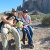 Brian, Bree, Tanya at Superstition Mountain