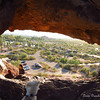 The view from Hole in the Rock, Papago Park, Phx.