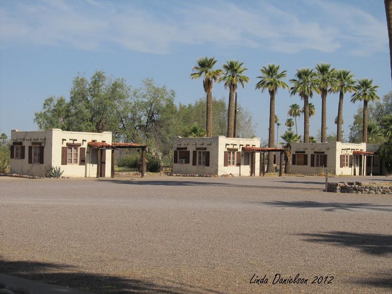 Row of cottages, Buckhorn Motel, Mesa AZ