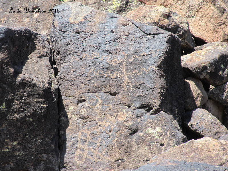Petroglyphs, Deer Valley Rock Art Center<br /> Cultures of Arizona left their marks here between 500 and 7,000 years ago.