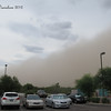 Another dust storm heading into the valley Thurs evening.