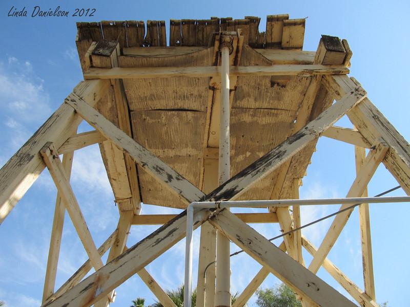 Part of the original well/pumping structure? <br /> Buckhorn Motel, Mesa AZ