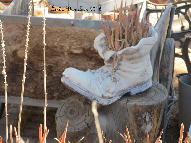 Planter in Nana's Garden<br /> Mesa Historical District, Mesa AZ