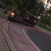 Freestone Railroad, chugging in for its last trip of the day.