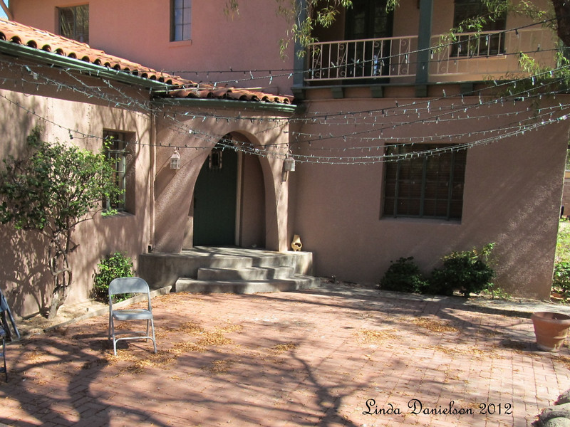 Courtyard - love the doorway in this one<br /> Mesa Historical District, Mesa AZ