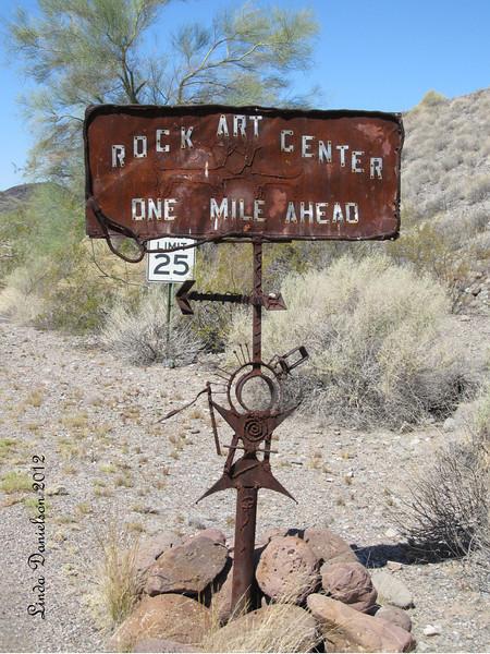 Welcome Sign<br /> Deer Valley Rock Art Center