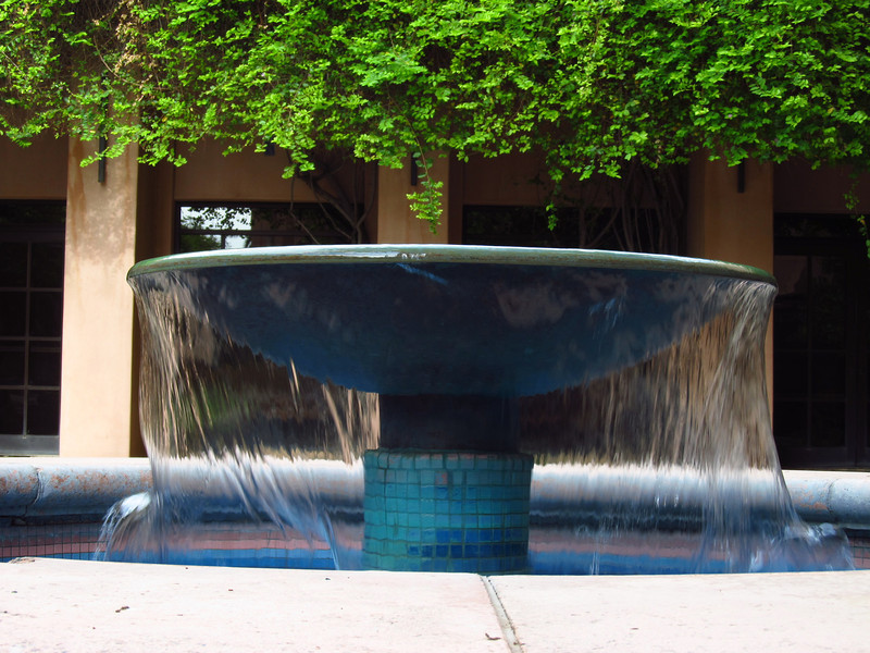 Fountain, ASU campus