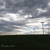 Such a big beautiful sky @ Red Mountain Park<br /> monsoon season, July 2012