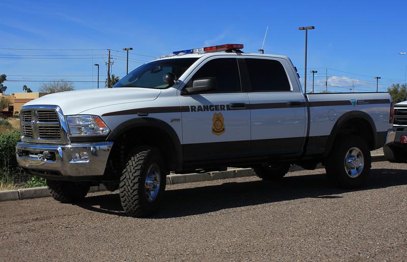 BLM 2011 Dodge Ram