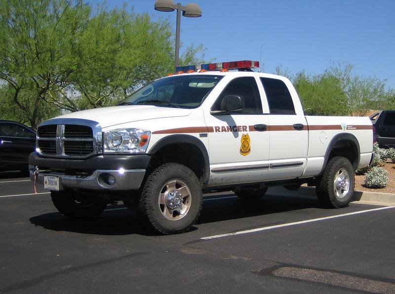 BLM Ranger Dodge Ram