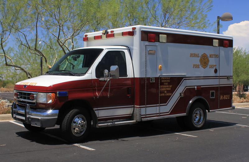 CAR RMFD R821 Ford E350 #94088