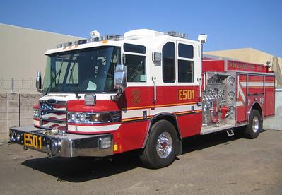 CSG E501 2007 Pierce Quantum 1500gpm 750gwt