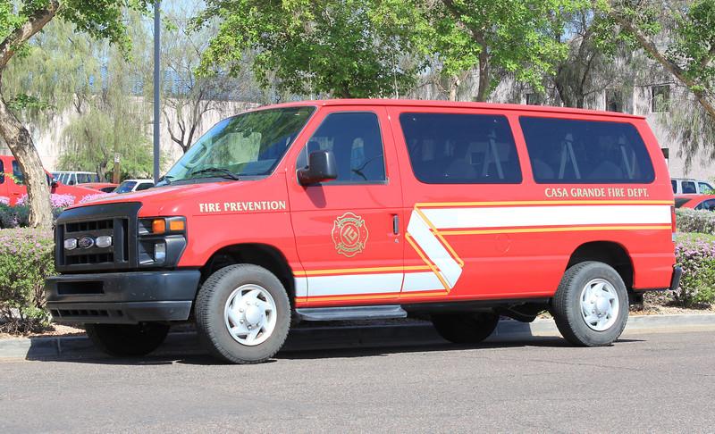 CSG Fire Prevention Ford Van