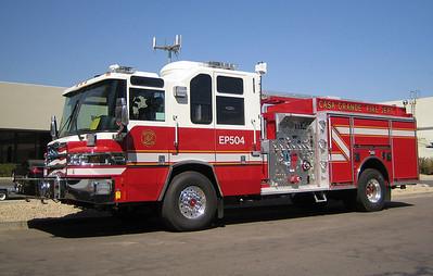 CSG E504 2007 Pierce Quantum 1500gpm 750gwt