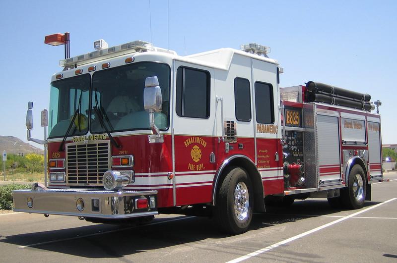 RMFD E825 2006 HME Ferrara 1250gpm 750gwt 20gft CAFS #20771