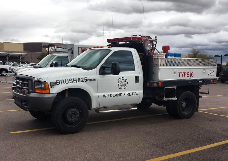 RMFD CAV BR825 Ford F450