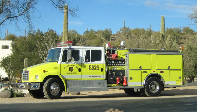 RMFD E825 Freightliner Luverne (reserve now E821)