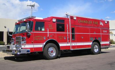 CHA E2810 2007 Pierce Dash Rear-Pump 1500gpm 690gwt 60gfts CAFS #08010