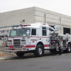 CHA L281 2006 Pierce Dash 95ft mmt ladder extended out