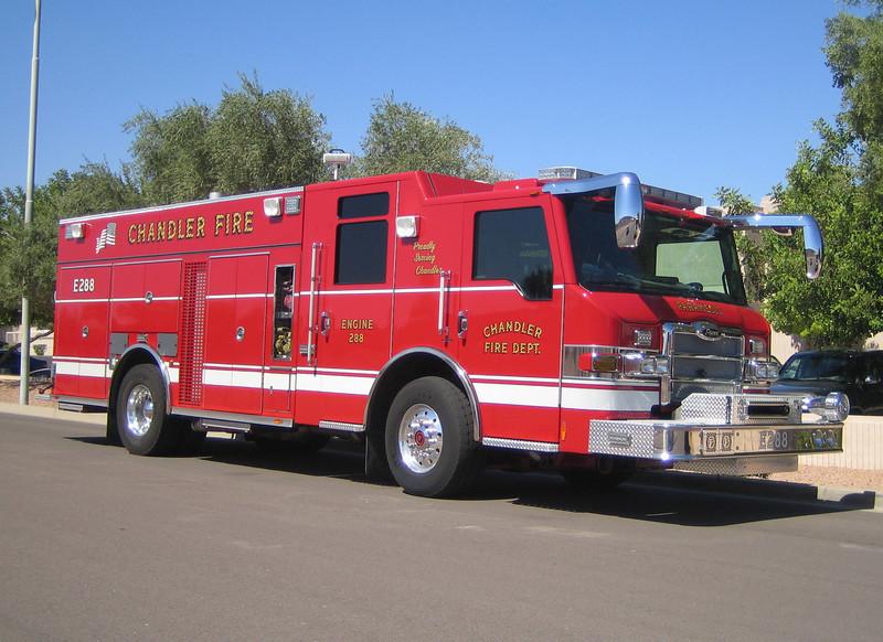 CHA E288 2008 Pierce Velocity Rear-Pump 1500gpm 690gwt 60gfts CAFS #08088 (ps)