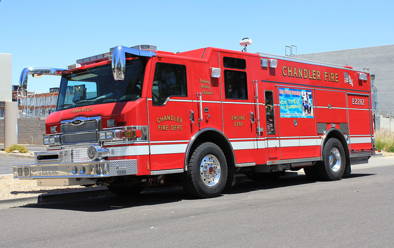 CHA E2282 2008 Pierce Velocity Rear-Pump 1500gpm 690gwt 60gfts CAFS #08022